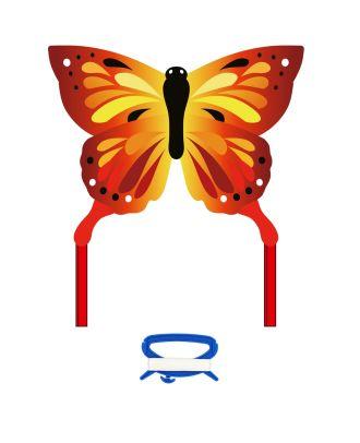 Kinderdrachen Einleiner Butterfly Kite Sunrise Schmetterling HQ Drachen