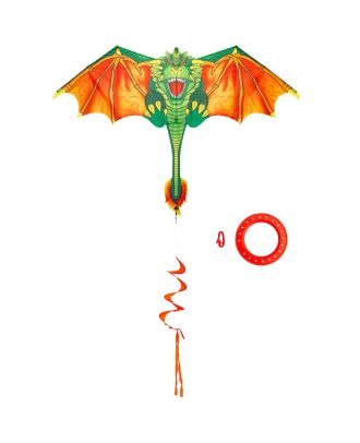 Kinderdrachen Einleiner Drachen HQ Blaze The Dragon Flugdrachen