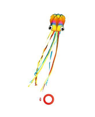 Kinderdrachen Einleiner Drachen HQ Rainbow Octopus Flugdrachen