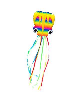 Kinderdrachen Einleiner Drachen HQ Rainbow Octopus L Flugdrachen