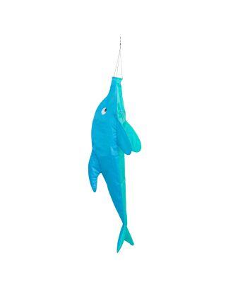 HQ Windsack Dolphin 100 cm Windspiel Leinenschmuck