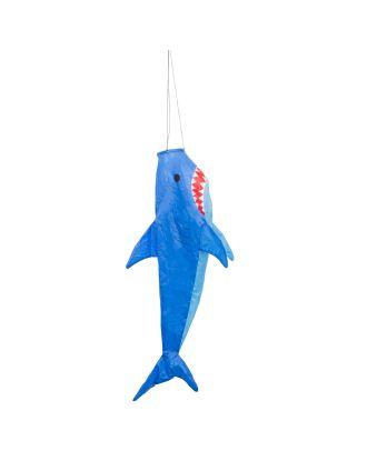 HQ Windsack Shark 100 cm Windspiel Leinenschmuck