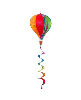 HQ Windspiel Hot Air Ballon Twist Victorian Style 104 cm Gartendekoration Ballon