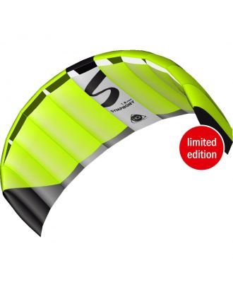 HQ Lenkmatte Symphony Pro 1.8 Neon Green Limited Edition R2F Allround Lenkdrachen Kite