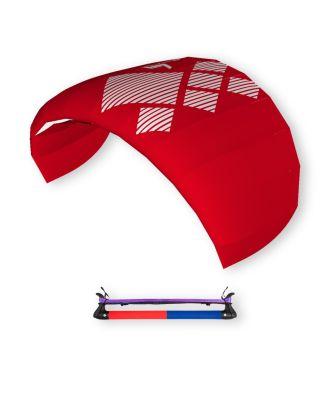 HQ4 Lenkdrachen Lenkmatte Drachen Fluxx 1.3 inkl. Bar Trainer-Kite