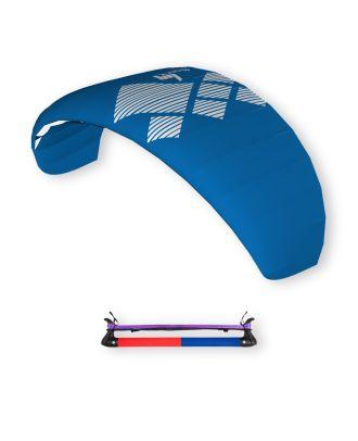 HQ4 Lenkdrachen Lenkmatte Drachen Fluxx 2.2 inkl. Bar Trainer-Kite