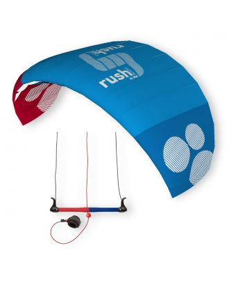 HQ Kite Lenkmatte HQ4 Rush Pro School 300 Trainerkite Control Bar Dreileiner Drachen