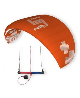 HQ Kite Lenkmatte HQ4 Rush Pro 350 Trainerkite Control Bar Dreileiner Drachen
