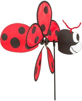 Windrad Windspiel HQ Spin Critter Ladybug Gartendeko Propeller