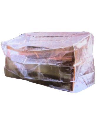 Schutzhülle für Gartenbank Plane Garten Abdeckung Gartenmöbel transparent