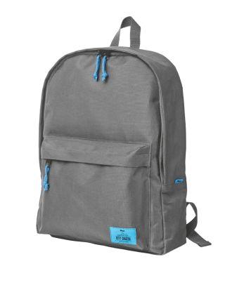 Trust Laptop Rucksack City Cruzer grau bis 16 Zoll Laptoptasche