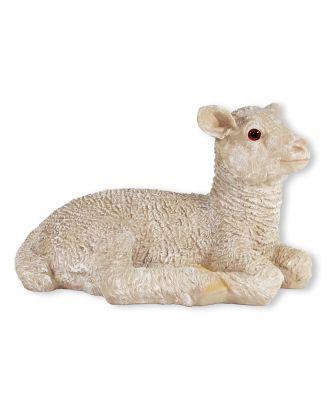 Gartenfigur Schaf Figur Nancy Schaf liegend Lamm Figur für den Garten