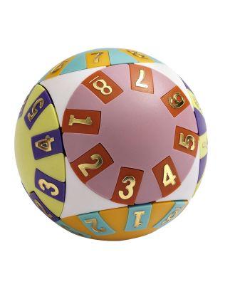 Wisdom Puzzle Ball Inspiration Denkspiel Geduldsspiel Kugel Zahlen-Schiebe-Puzzle 3D-Puzzle