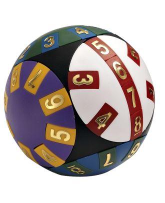 Wisdom Puzzle Ball Advanced Denkspiel Geduldsspiel Kugel Zahlen-Schiebe-Puzzle 3D-Puzzle