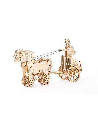 Woodencity Roman chariot Streitwagen Holzmodell Bausatz Dekoration