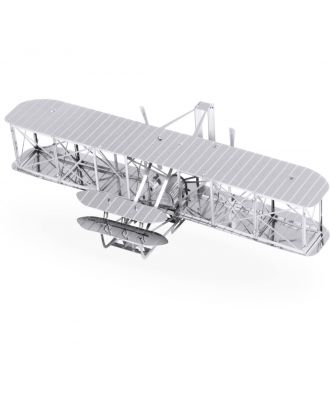 Metal Earth Wright Brothers Airplane Flugzeug MMS042 3D Figur Metallbausatz
