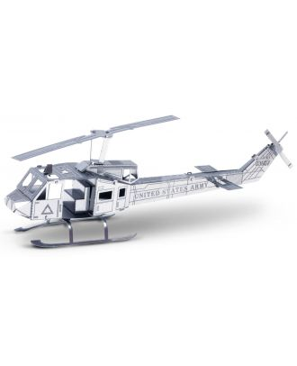 Metal Earth Huey UH-1 Helikopter MMS011 3D Figur Metallbausatz