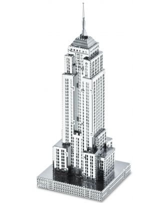 Metal Earth Empire State Building Wolkenkratzer MMS010 3D Figur Metallbausatz