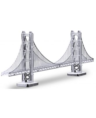 Metal Earth Golden Gate Bridge Brücke MMS001 3D Figur Metallbausatz