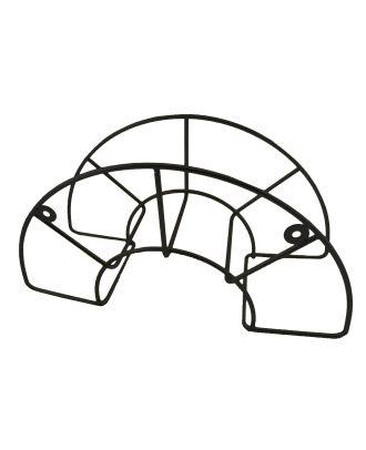 Schlauchhalter Metall Wandschlauchhalter Halterung  für Gartenschlauch Blacky schwarz