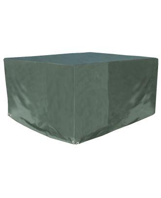 Schutzhülle Premium für Gartentisch Tisch grün rund 124x71cm Gartenmöbel