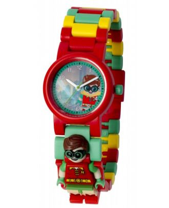 LEGO Uhr Friends Batman Movie Robin Armbanduhr Kinderuhr