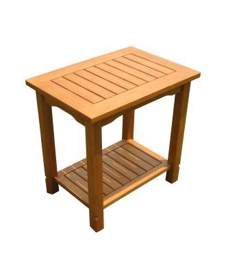 Beistelltisch Holz eckig Ablagetisch Couchtisch klein Holztisch FSC 100%