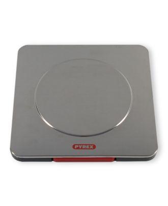 Pyrex Küchenwaage digital LCD Display Lebensmittelwaage Edelstahl