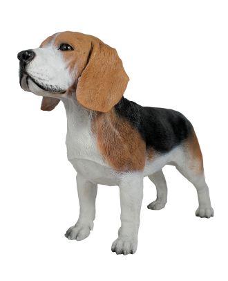 "Dekofigur Hund Beagle ""Butch"" Tierfigur Skulptur Haushund"