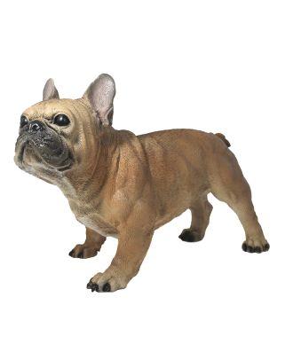 "Dekofigur Hund Französische Bulldogge ""Alain"" Tierfigur Skulptur Haushund"