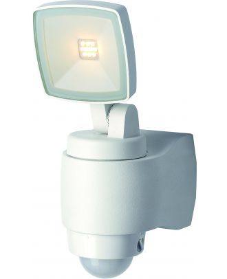 LED Strahler Garten Außenleuchte mit Bewegungsmelder 10 Watt IP44 Aluminium Gehäuse schwenkbar