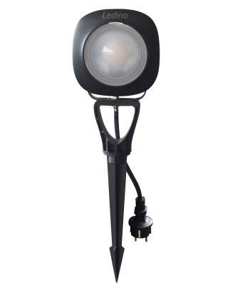 LED Gartenstrahler mit Erdspieß Ledino LED Strahler 50W LED Gartenspot