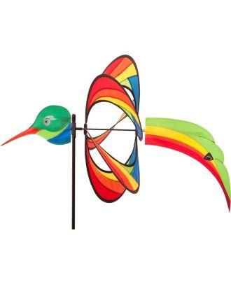 Windrad Windspiel HQ Paradise Critter Hummingbird mit Bodenanker Gartendeko Propeller