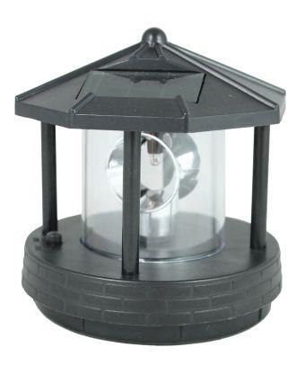 Leuchtturm Ersatzkopf für Deko Solar Leuchttürme mit Leuchtfeuer drehbar Solarkopf Ersatzteil