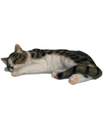 """Dekofigur Hauskatze """"Murli"""" Stubentiger Katze Tierdeko Dekoration"""
