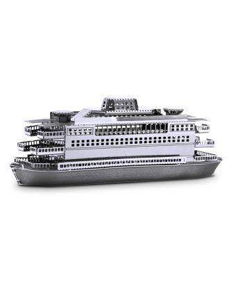 Metal Earth Commuter Ferry Fähre Schiff MMS068 3D Figur Metallbausatz