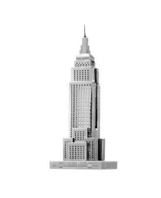Metal Earth ICONX Empire State Building Wolkenkratzer ICX010 3D Figur Metallbausatz