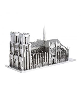 Metal Earth ICONX Notre Dame Kathedrale Kirche ICX003 3D Figur Metallbausatz