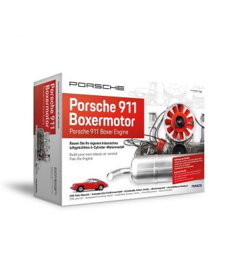 Franzis Porsche 911 Boxermotor Maßstab 1:4 Motorbausatz Bausatz Motormodell Funktionsmodell