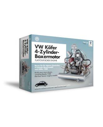 Franzis VW Käfer 4-Zylinder-Boxermotor Maßstab 1:4 Motorbausatz Bausatz Motormodell Funktionsmodell