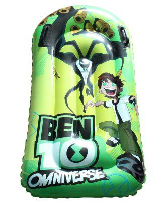 """Luftmatratze für Kinder Kindermatratze """"Ben 10 """" 110 cm Wassermatratze Zelten"""