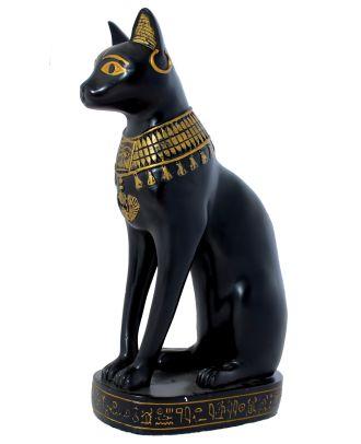 Dekofigur Ägyptische Katze Bastet Göttin der Fruchtbarkeit Dekoration Ägypten